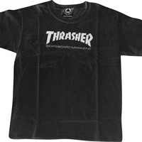 Thrasher Mag Logo Youth Tee M Black