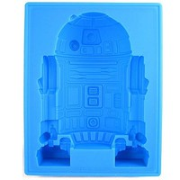 Stupid.com: Star Wars Deluxe Silicone Ice Mold R2-D2