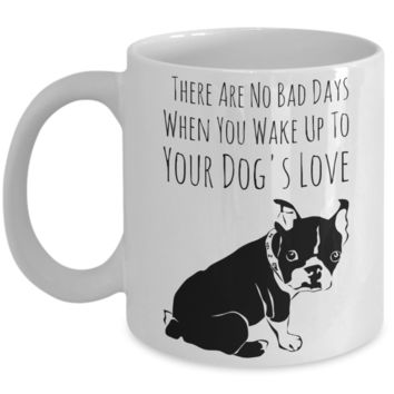 Fun Dog Love Mug - Funny Saying Quote Gift for Her & Him - Perfect Gift for Kids, Parents, Mom, Dad, Grandparents - Best Morning & Night Cup for Cocoa!