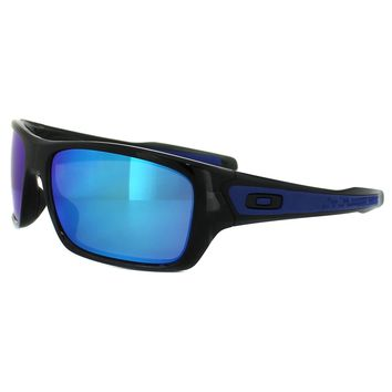 Oakley Sunglasses Turbine OO9263-05 Black Ink Sapphire Iridium