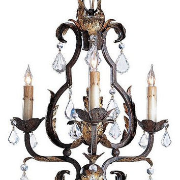 Currey & Company Tuscan Chandelier, Small - Currey 9829