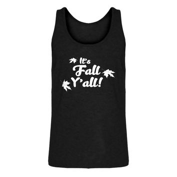 Mens It's Fall Y'all Jersey Tank Top