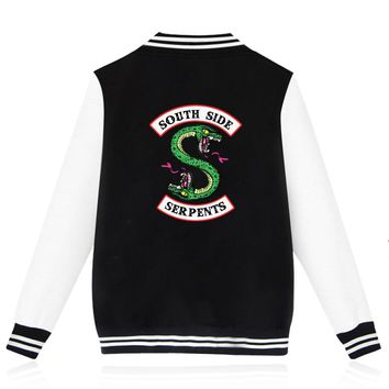 BTS Riverdale Winter Jacket Women Plus Size Fashion New European Style Cool Hipster Brand Casual Harajuku Autumn Jacket Women