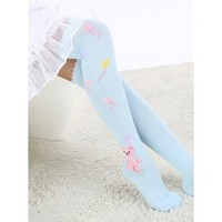 Cute Lolita Bear Knee High Socks
