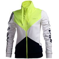 """Adidas"" (3- colors) Zipper Cardigan Sweatshirt Jacket Coat Windbreaker Sportswear"