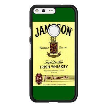 Jameson Wine Irish Whiskey Google Pixel Case