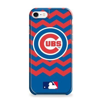 CHICAGO CUBS CHEVRON PATTERN iPhone 6 | iPhone 6S Case