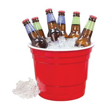 Red Cup Party Bucket