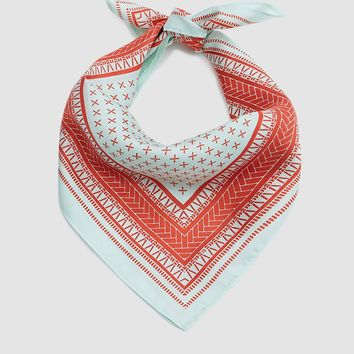 A Peace Treaty / Clemente Turquoise Scarf