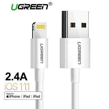 Ugreen MFi Lightning to USB Cable for iPhone X 7 6 5 6s Plus Fast Charging