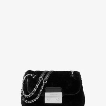Sloan Small Shearling Shoulder Bag | Michael Kors
