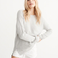 Womens Slouchy Crew Sweater | Womens New Arrivals | Abercrombie.com