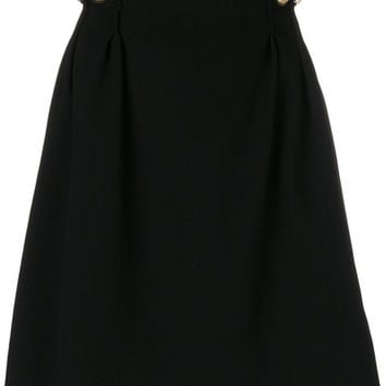 Carven Gathered Side Skirt - Farfetch