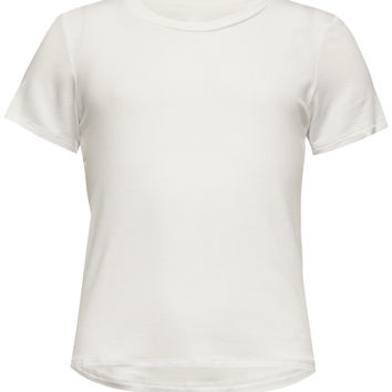 Full Tilt Solid Girls Tee White  In Sizes