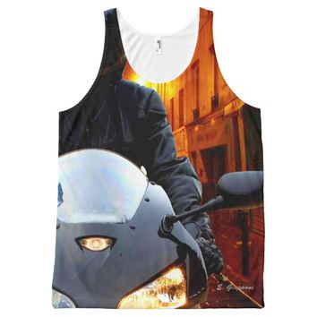 Top Rider, All-Over Printed Unisex All-Over Print Tank Top