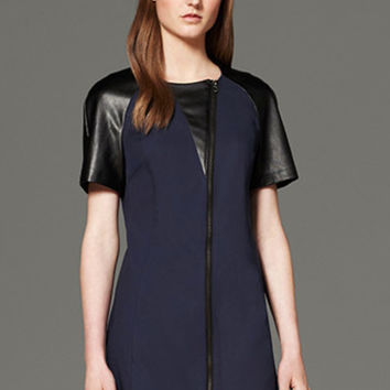 Philip Lim For Target Dress With Faux Leather  (3.1 Phillip Lim for Target)