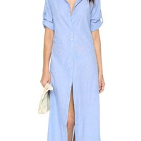 Shirtdress Cover Up