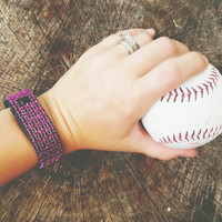 Purple Fit Bling, CHARGE HR, Fitbit Bling, Fitbit Cover, Fitbit Stylish Wrap, Fitbit Rhinestone, Bedazzled Fitbit, Fitbit Bracelet