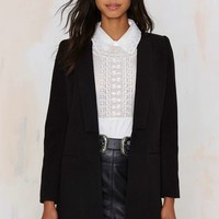 Lapel of the Ball Tailored Coat