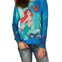 Ariel Little Mermaid Sweatshirt