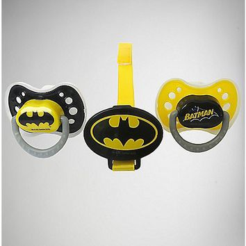 Batman Pacifier 3 Pack - Spencer's