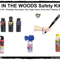"""In The Woods"" Camping Safety Kit"