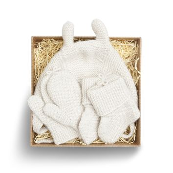 Baby Knit Gift Set