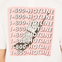 Urban Outfitters T-Shirt 1-800 Hotline Tee - Urban Outfitters