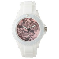 Cool traditional Japanese Dragon Texture Watch
