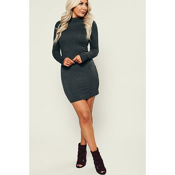 Forever Friends Bodycon (Charcoal)
