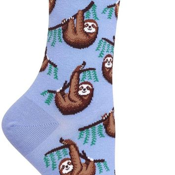 Sloth Women's Crew Socks