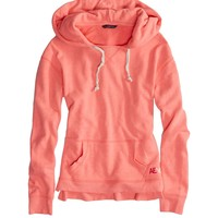 AEO Factory Women's Hooded Pop Over (Knockout Pink)