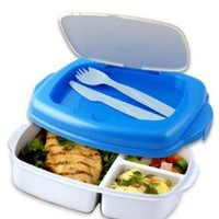 Stay-Fit Lunch 2 Go Container, EZ Freeze