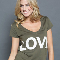 LOVE Letters Printed T-Shirt