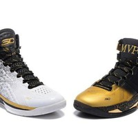 LMFON3A VAWA Men's Under Armor Curry MVP Basketball Shoes