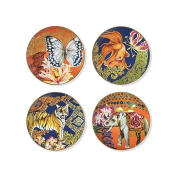 Palace Thai Salad Plates, Set of 4