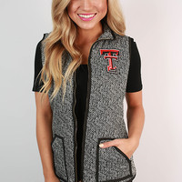 Texas Tech University Herringbone Vest