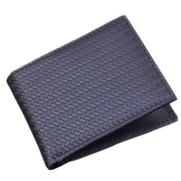 DCCKU7Q Men Bifold Business Leather Wallet  ID Credit Card Holder Purse Pockets