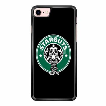 Funny Starbucks Logo Parody iPhone 7 Case