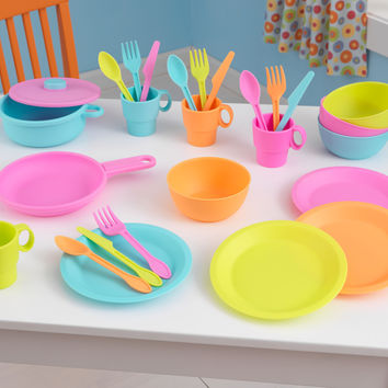 KidKraft 27 Piece Bright Cookware Set - 63319