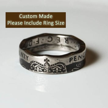 Coin Ring - United Kingdom - 20 Pence
