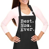 Chef Apron Best Mom Ever One Size, Dropship Deals