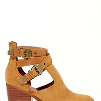 Jeffrey Campbell Everwell Ankle Boot - Tan