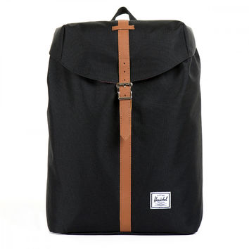 Herschel Supply Co. Black Post Mid-Volume Backpack