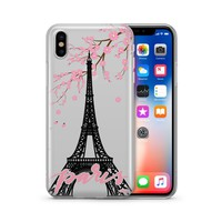Paris - Clear TPU Case Cover