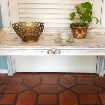 White French Style Vintage Coffee Table 1940s