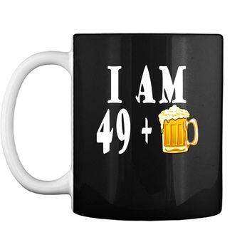Vintage Birthday Legend Cheer and Beer to 50 Mug