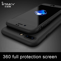 360 Full protection Case for iphone 7 6 6S PLUS Slim Hard Cover for iPhone 6 / 6plus 6Splus 7plus 5.5 inch Shockproof Phone case