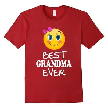Emojicon Grandma shirt mother's day gift from granddaughter