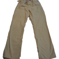 Cream Corduroy Pants by GAP